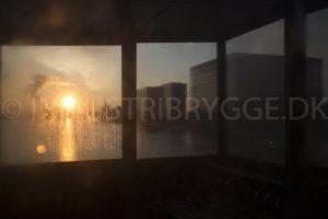 Langebro mellem Islands Brygge og Klavebod Brygge