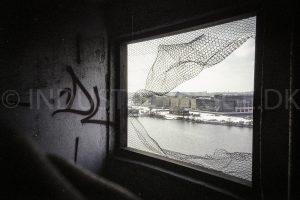 Udsigt til Fisketorvet fra Wenberg Silo på Islands Brygge