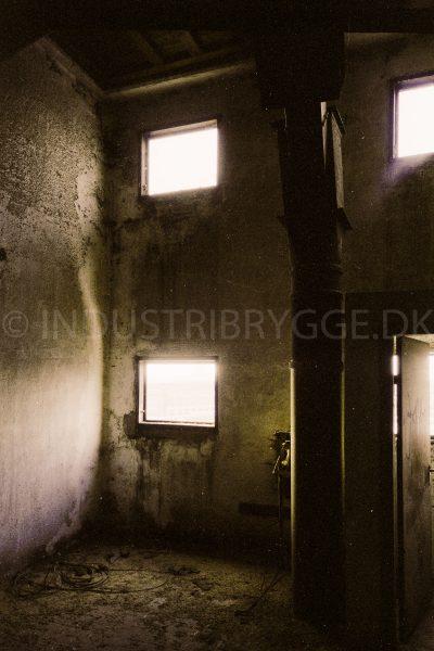 Wennberg Silo på Islands Brygge indefra